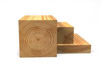 Обрезная доска и брус (лиственница) 50 х 50 мм, 3 м