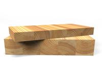 Мебельный щит (лиственница) 50 х 200-600 мм, 0,9-4 м,  сорт Экстра